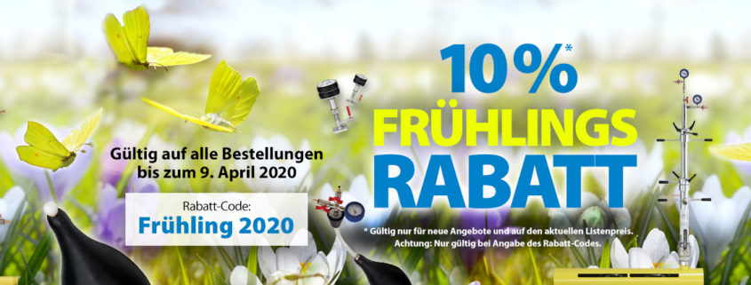 Frühlingsrabatt | Städtler + Beck GmbH