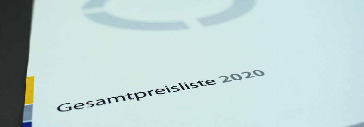Gesamtpreisliste 2020 | Städtler + Beck GmbH