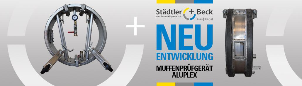 Neuentwicklung Muffenprüfgerät | Städtler + Beck GmbH