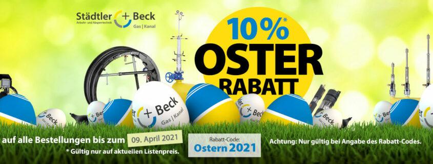 Osterrabbat bei Städtler + Beck | Anbohrtechnik und Absperttechnik Gas und Kanal